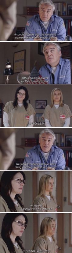 Mr. Sam Healy, Piper and Alex. Orange is the New Black Season 1