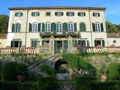 Italian Villas: Villa Burlamacchi, Lucca Toscana, Italy