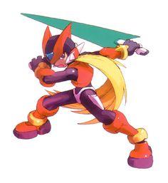 Zero - Characters & Art - Mega Man Zero