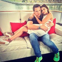 Papa and I yachting @johnscotbarrowman - Willa