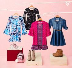 Dresses with so-now silhouettes + ankle boots = a super cute look for fall!