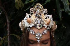 Being beaded crown