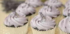 I hate to be pinning cupcakes, but the lavender and dark chocolate is so elegant i couldn't resist! Silver Cupcakes, Wedding Cupcakes, Wedding Cake, White Cupcakes, Wedding Sweets, Wedding Flower Inspiration, Wedding Ideas, Wedding Blog, Wedding Stuff