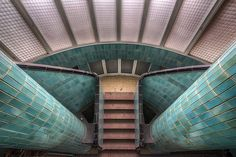 Abandoned Art Deco Swimming Pool in France
