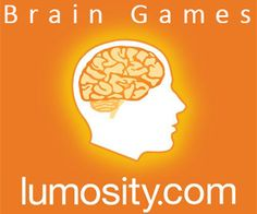 """I LOVE this website! Re-train your brain to THINK. ~ Nancy . . . """"Lumosity's groundbreaking program is based on extensive research in the field of neuroplasticity. Multiple studies have been published on Lumosity's ability to improve key abilities such as working memory, visual attention, fluid intelligence, and executive function. No matter what your age, improving these core cognitive abilities can improve real-life abilities."""""""