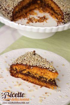 Torta di carote ripiena alla Nutella #ricette #recipe #Nutella