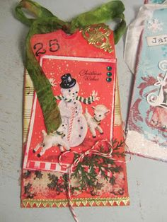 December Christmas Tag