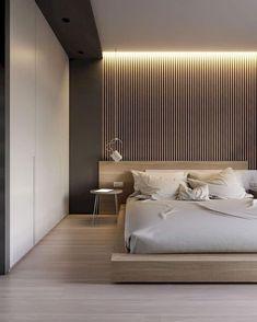 Modern Luxury Bedroom, Modern Master Bedroom, Stylish Bedroom, Modern Bedroom Design, Master Bedroom Design, Luxurious Bedrooms, Bedroom Design Minimalist, Minimalist Decor, Bedroom Designs