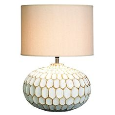 I pinned this Allier Honeycomb Table Lamp from the Rosemore & Redding event at Joss and Main!
