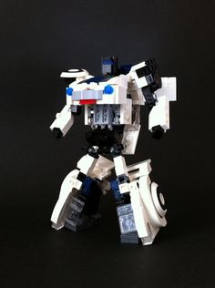 G1 Transformer Jazz (mini figure scale / transformable): A LEGO® creation by alex wong : MOCpages.com