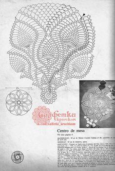 Crochet Doily Diagram, Crochet Pillow Pattern, Crochet Mandala, Crochet Motif, Crochet Doilies, Crochet Patterns, Crochet Hats, Pineapple Crochet, Dream Catcher