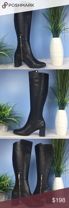 Taryn Rose over the knee tall women's boots Walk tall this fall in the eye-catching Taryn Rose® Carolyn boot. Pieced leather upper. Partial side-zipper closure. Round-toe silhouette. Abrasion resistant leather lining. Contoured arch support. Antimicrobial memory foam footbed with energy return and shock absorbing foam. Rose patterned rubber and EVA outsole. Product measurements were taken using size 8, width M. Please note that measurements may vary by size. Heel Height: 2 1⁄2 in…