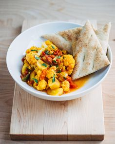 tomato and cauliflower curry // brooklyn supper