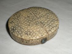Antique Georgian Shagreen Case - For Folding Spectacles or Monocle or Magnifier?