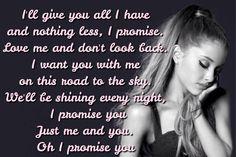 Ariana grande - my everything - intro lyrics