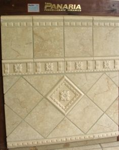 Ceramic Tile Shower Designs | Panaria tile installed in hall bathroom purchased from Tile by Design ...