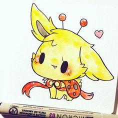 electric ladybug pup ^u^ adopted by @deniseespinoza31