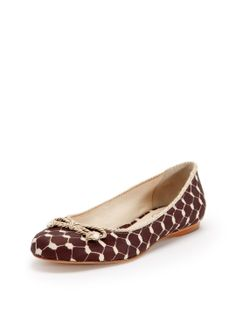 Zooey Ballet Flat by Jack Rogers at Gilt