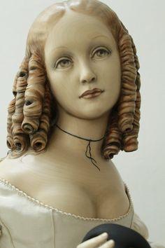 Dolls on Pinterest | Wooden Dolls, Barbie and Art Dolls