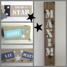 Blog vol inspiratie voor een echte sterrenkamer. #kinderkamer #babykamer #sterren