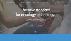 http://www.flatiron.com/ Health care technology.