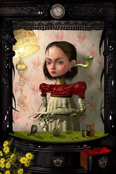 Ray Caesar visual surreal artist and digital painter