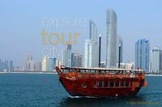 Sail for guided #tour through the corniche of the urban city or two hours on #luxury #dhow #cruise in Abu Dhabi and have a #royal #dinner and amazing #nights where skyline is amazing at #marina  #AbuDhabi and then #enjoy the international #buffet catered by #5star #hotel #RoyalDinner. tour-dubai.com