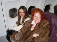Paola Meneghetti con Nina Morić