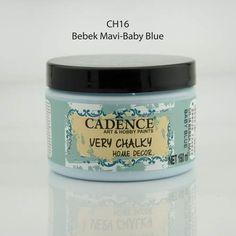 Cadence Very Chalky Home Decor Mobilya Boyası 150 ml. BEBEK MAVİ