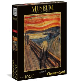 PUZZLE 1000 PZ MUSEUM: L'URLO DI MUNCH Clementoni - 39377