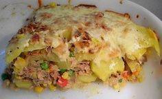 Bunter Kartoffel - Thunfisch Auflauf, ein schmackhaftes Rezept aus der Kategorie Fisch. Bewertungen: 51. Durchschnitt: Ø 3,7.
