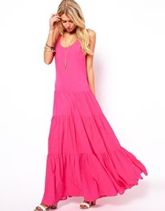 Enlarge ASOS Maxi Dress With Tiers