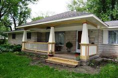Front Porch Addition in Greenwood, Indiana - Gettum Associates, Inc.
