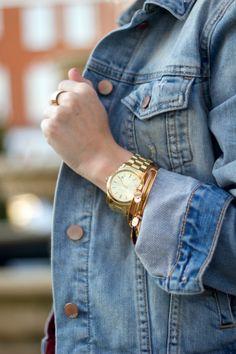 @Gap denim jacket (spring essential)