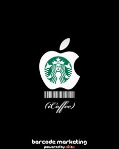 "Barcode Apple/Starbucks ""iCoffee"""