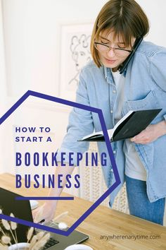 Get all the details on starting a bookkeeping business (even if you are a beginner) . Learn more about how to really start an online business. even if you have no experience. Perfect for moms (and dads) who want to work at home.. Bookkeeping Course, Online Bookkeeping, Bookkeeping Business, Facebook Business, Online Business, Work From Home Business, Business Ideas, Make Money From Home, How To Make Money