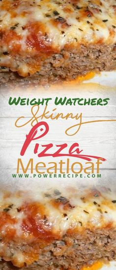 Skinny Pizza Meatloaf – All about Your Power Recipes Skinny Recipes, Meat Recipes, Slow Cooker Recipes, Crockpot Recipes, Food Processor Recipes, Cooking Recipes, Healthy Recipes, Cheese Recipes, Sausage Recipes