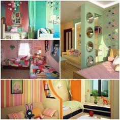 wandbemalung kinderzimmer - tolle interieur ideen | kinder, Schlafzimmer design