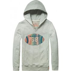 Scotch Shrunk - Trui Worked-out hoodie mint