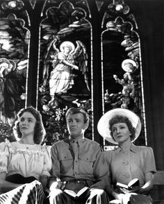 """Since You Went Away"" Jennifer Jones, Robert Walker, Claudette Colbert 1944 Selznick International Pictures"