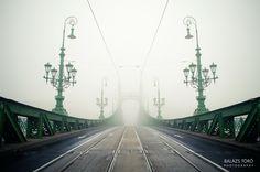 Liberty bridge II by Balázs Törő on Liberty Bridge, Hungary, National Geographic, Budapest, Explore, Pictures, Travel, Photos, Viajes