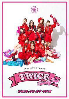 TWICE JAPAN 2nd SINGLE <Candy Pop> ONLINE RELEASE 2018.02.07 6PM #TWICE #트와이스 #CandyPop #BrandNewGirl