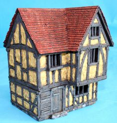 ME58 - 2 Story House with Jetted Gable End