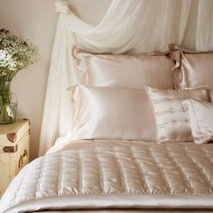 Gingerlily Silk Bed Linen Nude