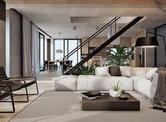 Modern Home Interior Design Arranged With Luxury Decor Ideas Looks So Fabulous Hello modern interior design perfection Home Design, Modern Home Interior Design, Luxury Homes Interior, Luxury Decor, Modern House Design, Design Ideas, Simple Interior, Modern Houses, Design Design