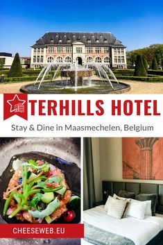 If you're wondering where to stay in Maasmechelen, Belgium, Terhills Hotel is a perfect choice. Monika reviews the hotel and shares some great ideas for things to do in Maasmechelen. (Yes, there's more than just shopping!) Travel Advice, Travel Tips, Travel Guides, European Travel, Travel Europe, Hotels And Resorts, Luxury Hotels, Belgium Hotels, Travel Belgium