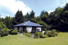 Architect Designed Property in 11 Acres of Shared Woodland! Dog Friendly Holidays, Cornwall Cottages, Architect Design, Acre, Woodland, Gazebo, Outdoor Structures, Cabin, House Styles
