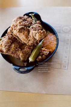 Smokey Fried Chicken / Bonnie Tsang