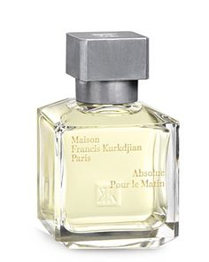 Absolue pour le Matin by Maison Francis Kurkdjian: a citrusy Mediterranean spring morning with violet, iris, and woods