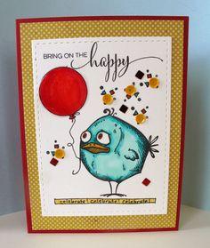 tim holtz crazy bird card ideas | CraZy for the Birds….Tim Holtz Birds